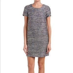 CeCe Short Sleeve Kayte Tweed Dress